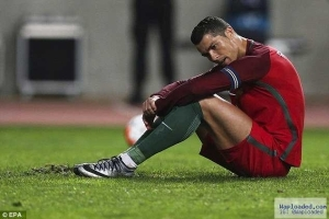 Cristiano Ronaldo Unable To Sleep Since His Shock Penalty Miss – Portugal's Coach